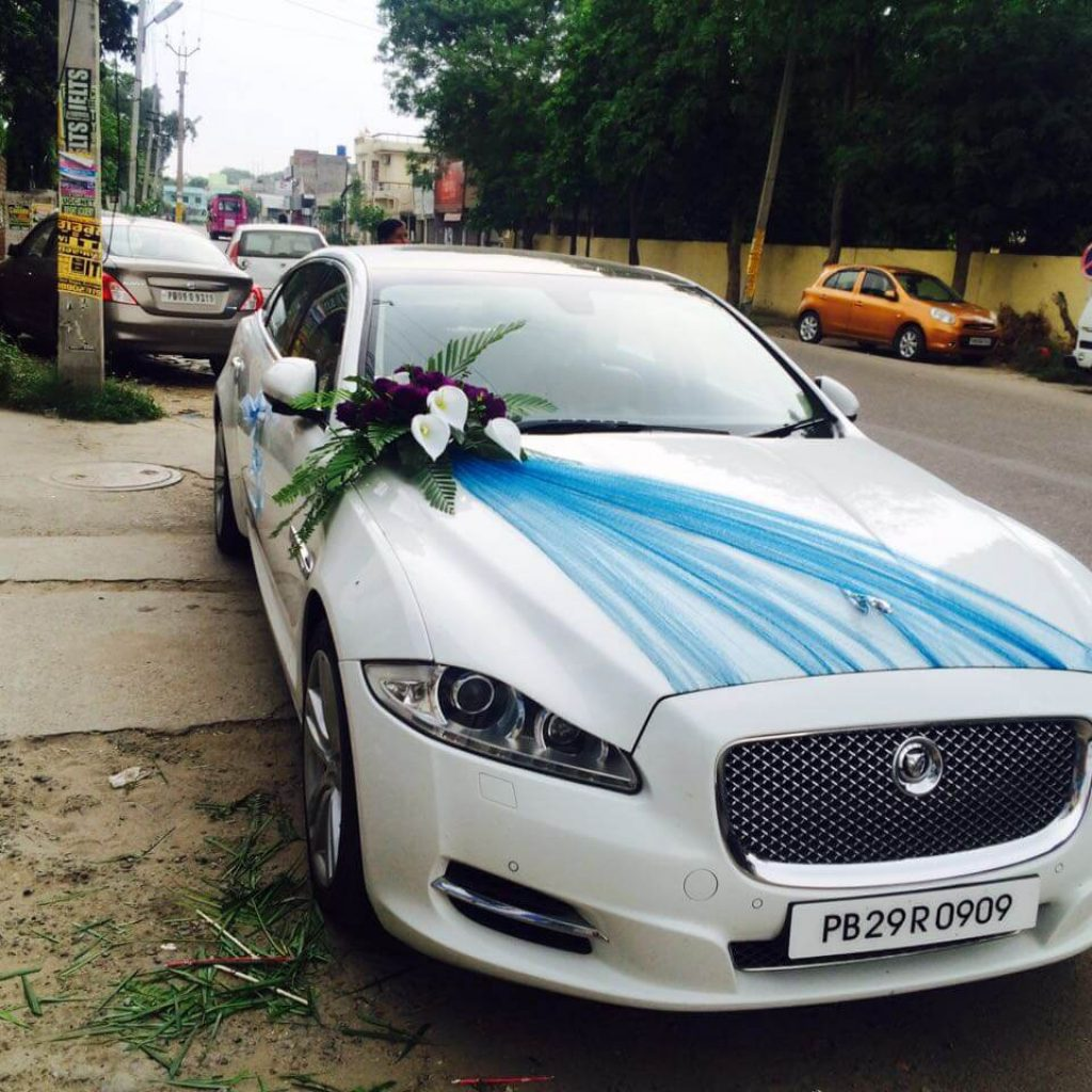 Jaguar Rental Car: Jaguar XJ L For Rent In Punjab And