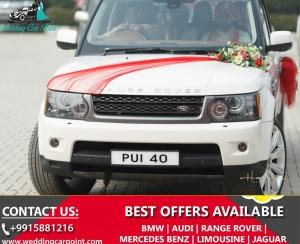 Range Rover Book for Wedding in Punjab